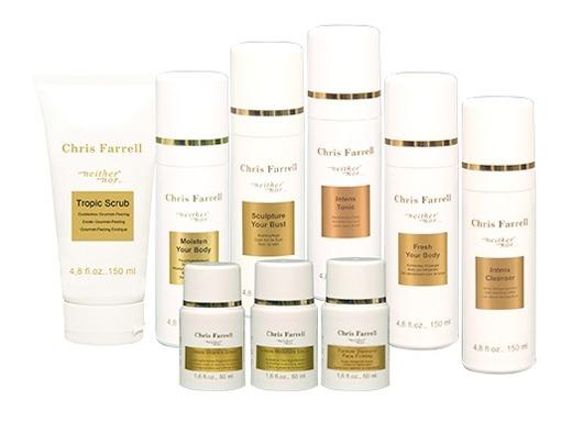 Hautstraffungscreme gegen Zornesfalte Krähenfüße von Chris Farrell Kosmetik